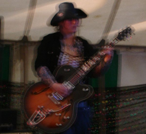 Reverend Hotfoot Jackson @ Kings Park (4th September 2005)